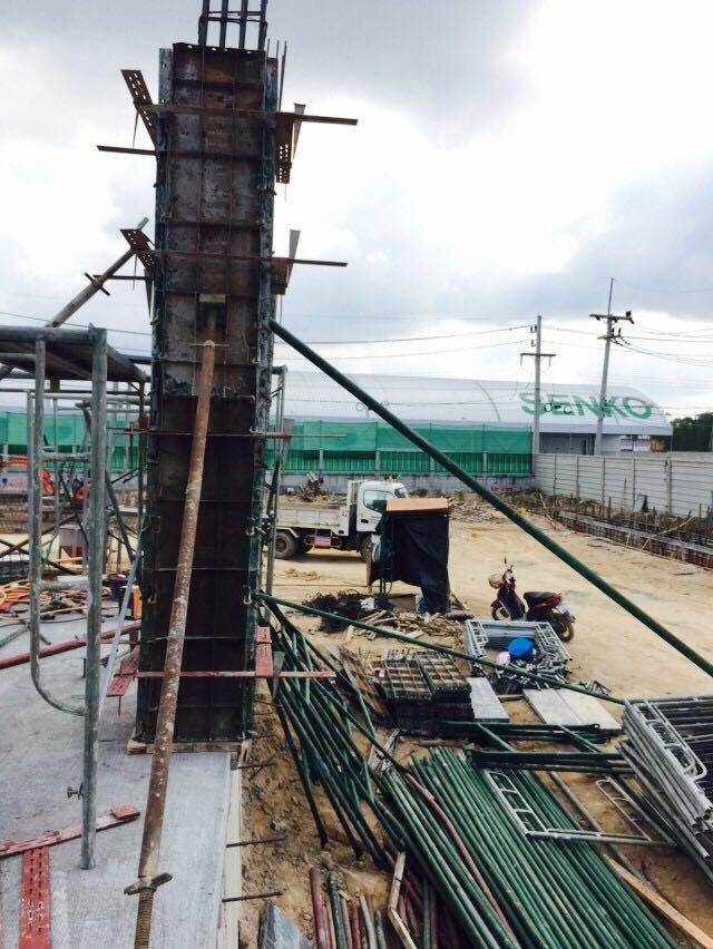 งานสร้าง Main Office (Fujitrans Logistics Thailand Co.,Ltd)