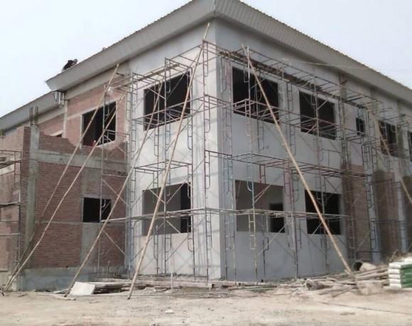 งานก่อสร้างอาคารสำนักงาน 2 ชั้น หน่วยงานเทศบาล ต.มะขาม จ.จันทบุรี