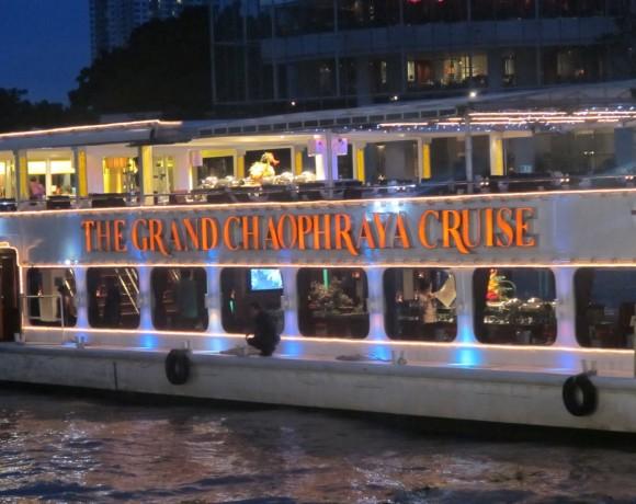 งานต่อเติมเรือ The Grand Chaophraya Cruise