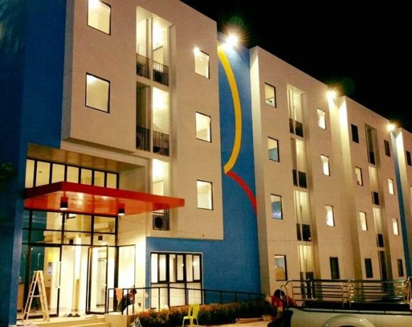 """งานก่อสร้างโรงแรม """"Hop Inn"""" Erawan Group ระยอง"""