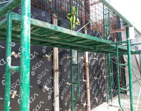 งานโครงสร้างถังน้ำเสีย บริษัท Thai Stanley จังหวัดปทุมธานี